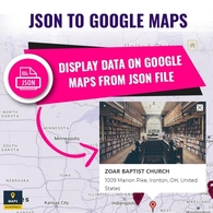 JSON To Google Maps