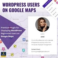 Wordpress Users Google Maps